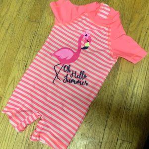 Rash guard Flamingo Baby One-piece Swimsuit